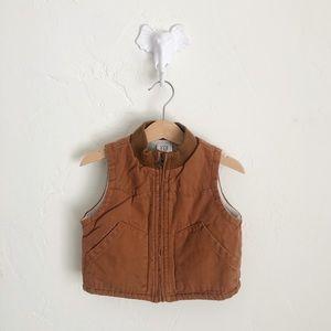 babyGAP 6-12M Rust Baby Vest